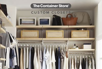 The Container Store Weekly Ad Flyer July 12 to July 19