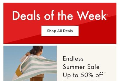 Chapters Indigo Online Deals of the Week July 12 to 18