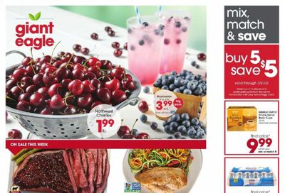 Giant Eagle (OH, PA) Weekly Ad Flyer July 15 to July 21