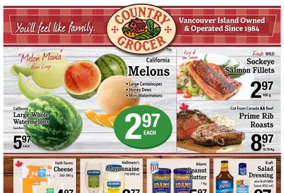 Country Grocer (Salt Spring) Flyer July 14 to 19