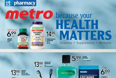 Metro (ON) Your Health Matters Flyer July 15 to 21