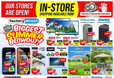 Factory Direct Flyer July 14 to 21