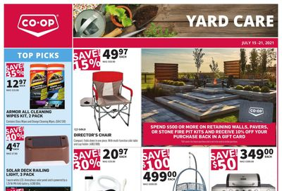 Co-op (West) Home Centre Flyer July 15 to 21