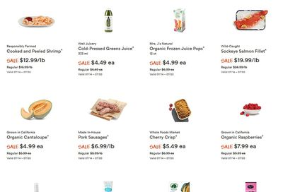 Whole Foods Market (West) Flyer July 14 to 20