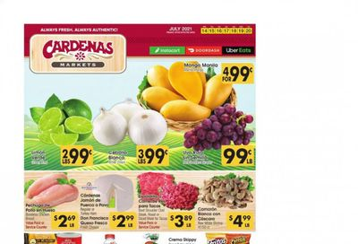 Cardenas (CA, NV) Weekly Ad Flyer July 14 to July 20