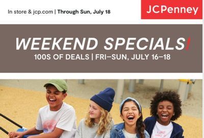 JCPenney Weekly Ad Flyer July 15 to July 18