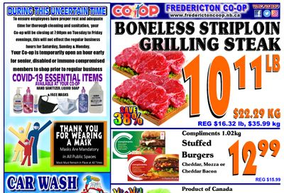 Fredericton Co-op Flyer July 15 to 21
