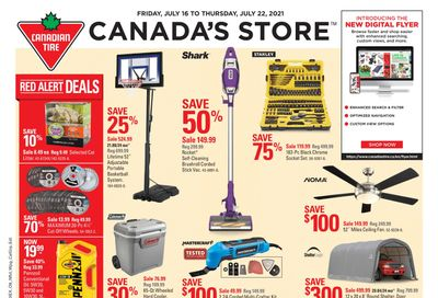 Canadian Tire (West) Flyer July 16 to 22