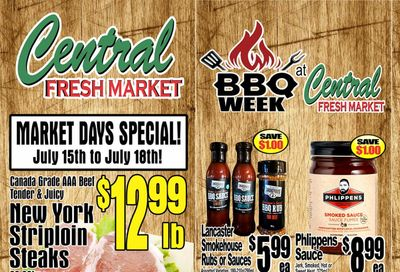 Central Fresh Market Flyer July 15 to 22
