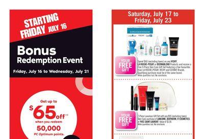 Shoppers Drug Mart (West) Flyer July 17 to 23