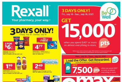 Rexall (London, ON) Flyer July 16 to 22