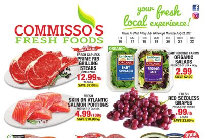 Commisso's Fresh Foods Flyer July 16 to 22