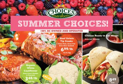 Choices Market Flyer July 15 to 21