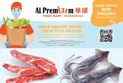 Al Premium Food Mart (Mississauga) Flyer July 15 to 21