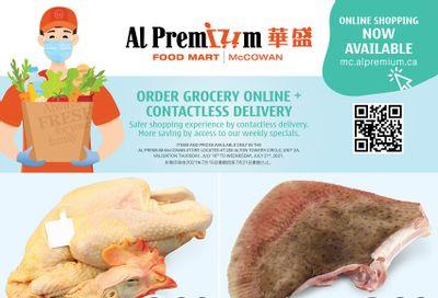 Al Premium Food Mart (McCowan) Flyer July 15 to 21
