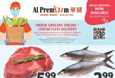 Al Premium Food Mart (Eglinton Ave.) Flyer July 15 to 21
