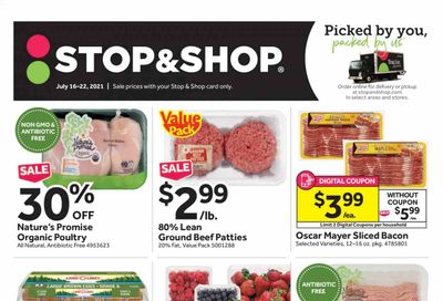Stop & Shop (NJ) Weekly Ad Flyer July 16 to July 22