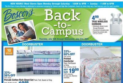 Boscov's (CT, DE, MD, NJ, NY, PA) Weekly Ad Flyer July 15 to July 21