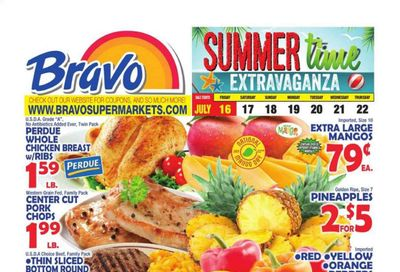 Bravo Supermarkets (CT, FL, MA, NJ, NY, PA) Weekly Ad Flyer July 16 to July 22