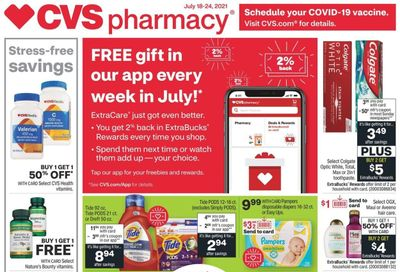 CVS Pharmacy Weekly Ad Flyer July 18 to July 24