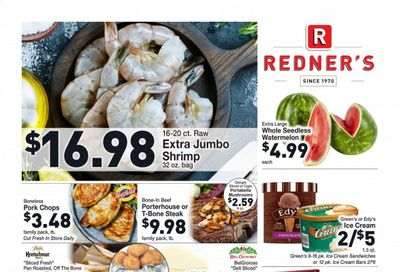 Redner's Markets (DE, MD, PA) Weekly Ad Flyer July 15 to July 21