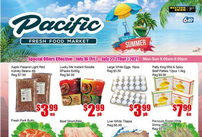 Pacific Fresh Food Market (Pickering) Flyer July 16 to 22