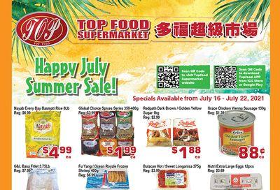 Top Food Supermarket Flyer July 16 to 22