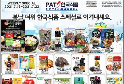PAT Mart Flyer July 16 to 22