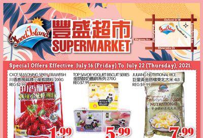 Food Island Supermarket Flyer July 16 to 22