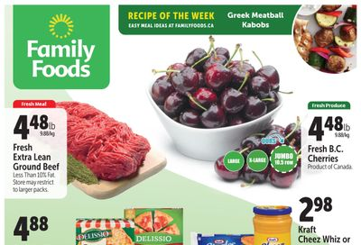 Family Foods Flyer July 16 to 22