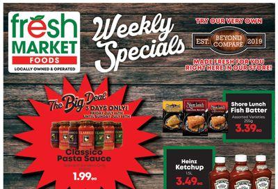 Fresh Market Foods Flyer July 16 to 22