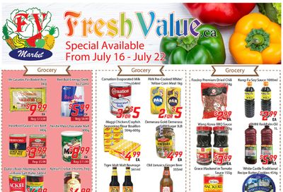 Fresh Value Flyer July 16 to 22