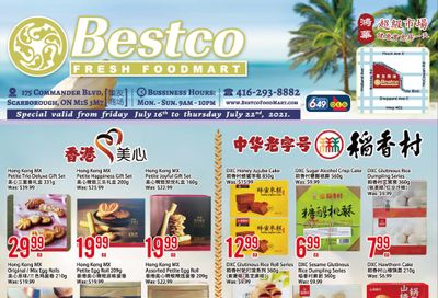 BestCo Food Mart (Scarborough) Flyer July 16 to 22