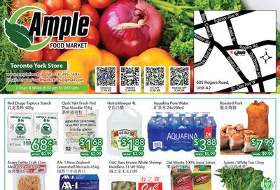 Ample Food Market (North York) Flyer July 16 to 22