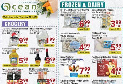 Oceans Fresh Food Market (Mississauga) Flyer July 16 to 22