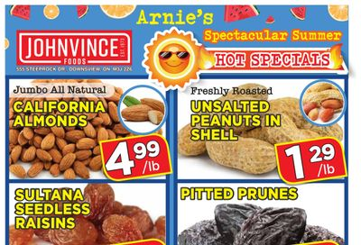 Johnvince Foods Flyer July 10 to 23