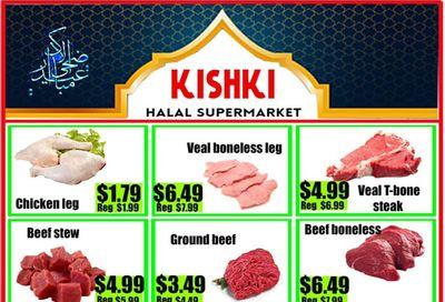 Kishki Halal Supermarket Flyer July 16 to 22