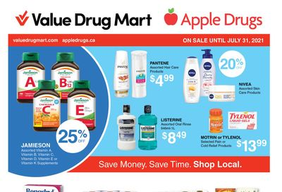 Apple Drugs Flyer July 18 to 31