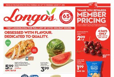 Longo's (Ancaster & Liberty Village) Flyer July 22 to August 4