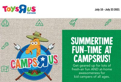 Toys R Us Flyer July 15 to 23