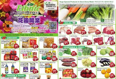 Ethnic Supermarket Flyer July 16 to 22