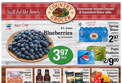 Country Grocer (Salt Spring) Flyer July 21 to 26