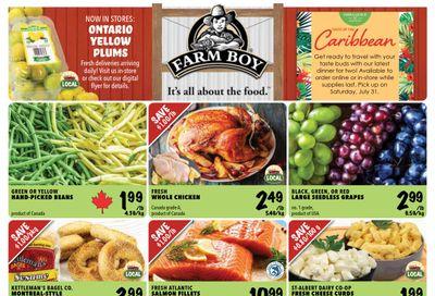 Farm Boy Flyer July 22 to 28