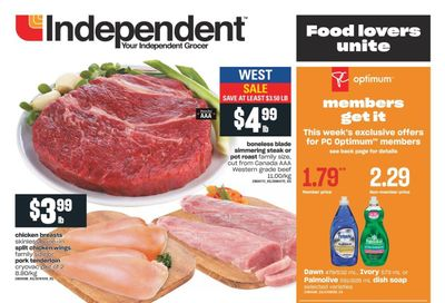 Independent Grocer (West) Flyer July 22 to 28