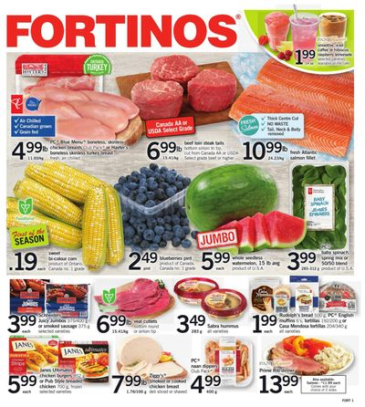 Fortinos Flyer July 22 to 28