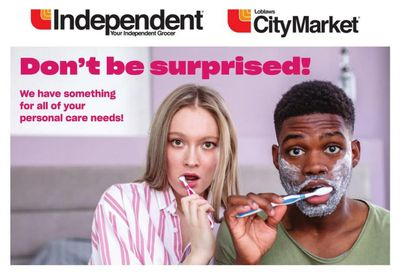 Independent Grocer (West) Personal Care Flyer July 22 to August 18