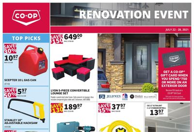 Co-op (West) Home Centre Flyer July 22 to 28