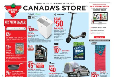 Canadian Tire (Atlantic) Flyer July 23 to 29