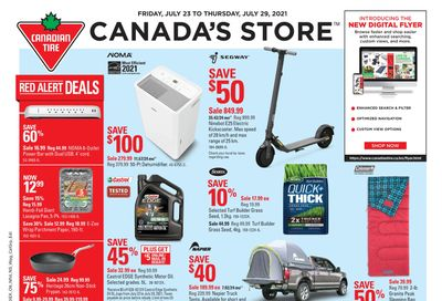 Canadian Tire (West) Flyer July 23 to 29