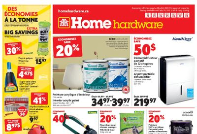 Home Hardware (QC) Flyer July 22 to 28